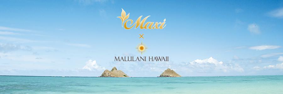 Maxi × MALULANI HAWAII ブレスレット ハワイアンジュエリーMaxi